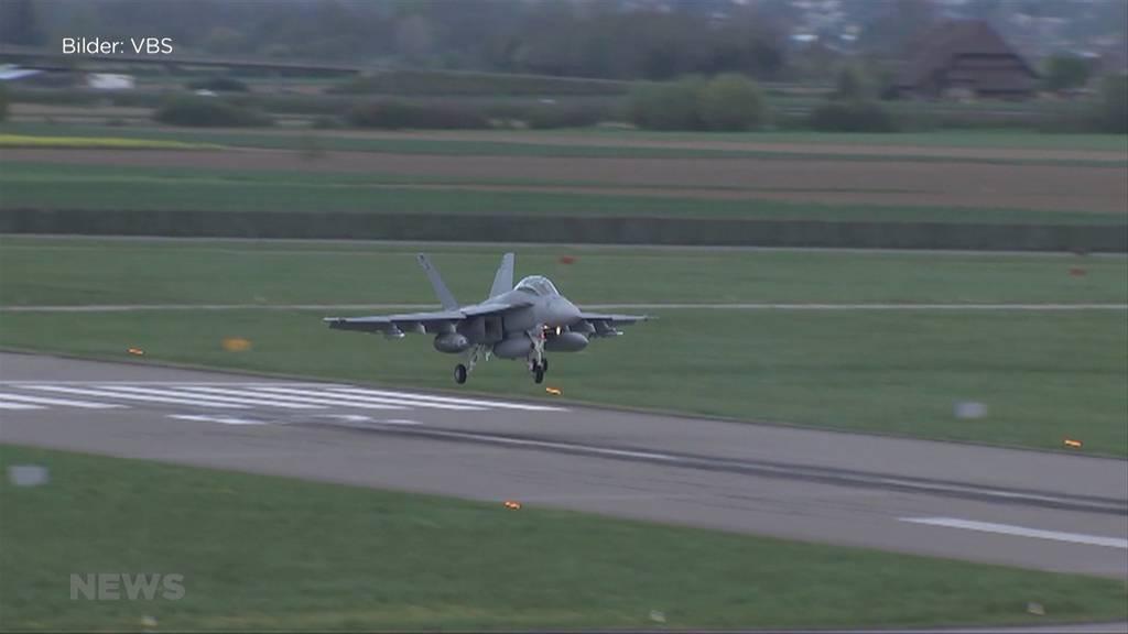 Ständerat sagt «Ja» zu neuen Kampfjets