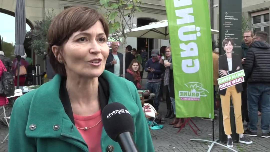 Grünen-Chefin Rytz: «Es ist unglaublich»