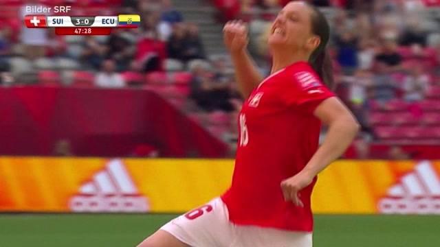 Aargauerin schiesst Hattrick am Fussball-WM