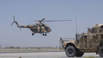 Missglückte Landung: Britischer Militärhelikopter in Afghanistan stürzt ab (Symbolbild)