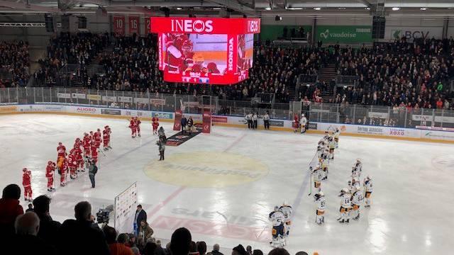 Starkes Lausanne gleicht Serie gegen Zug aus