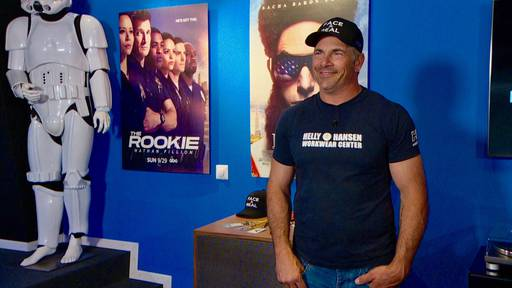 Hollywood-Stuntman Oliver Keller