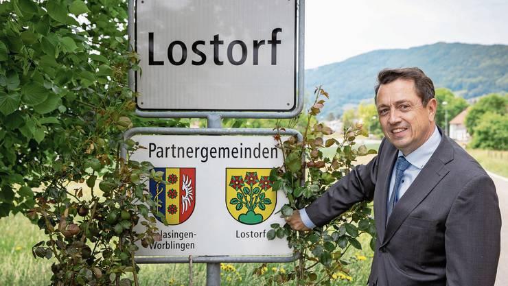 Thomas A. Müller hat bereits vor acht Jahren eine Kandidatur als Regierungsrat ins Auge gefasst.