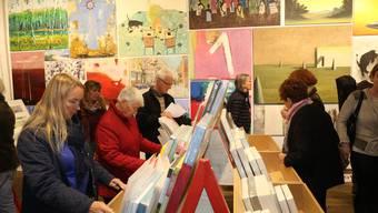 Rund 25 000 Besucherinnen und Besucher kamen an den diesjährigen Kunst-Supermarkt.