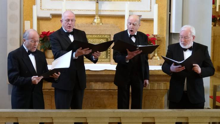 Das Vokalensemble Vila bereicherte den Gottesdienst mit eindrücklichen und bewegend dargebrachten russischen Liedern