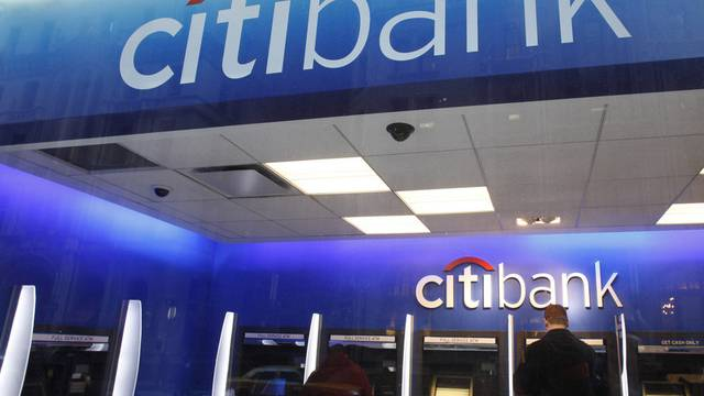 Betroffen von den Rechenfehlern der Fed ist auch die durchgefallene Cityigroup - hier eine Filiale der Tochter Citibank (Archiv)