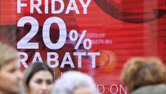 Der Black Friday steht vor der Tür (Archivbild).