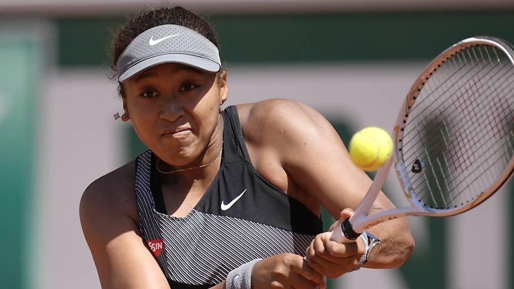Naomi Osaka ist in Wimbledon nicht zu sehen.