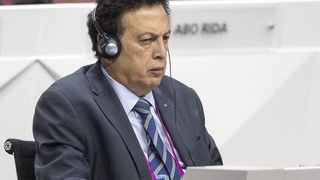 Alfredo Hawit - hier am FIFA-Kongress in Zürich im Mai - wehrt sich nicht gegen die Auslieferung in die USA (Archiv).
