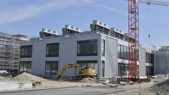 Baustelle CSL Behring Lengnau