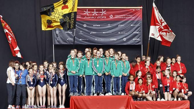 Schlussfeier Jugend am Eidgenössischen Turnfest in Aarau