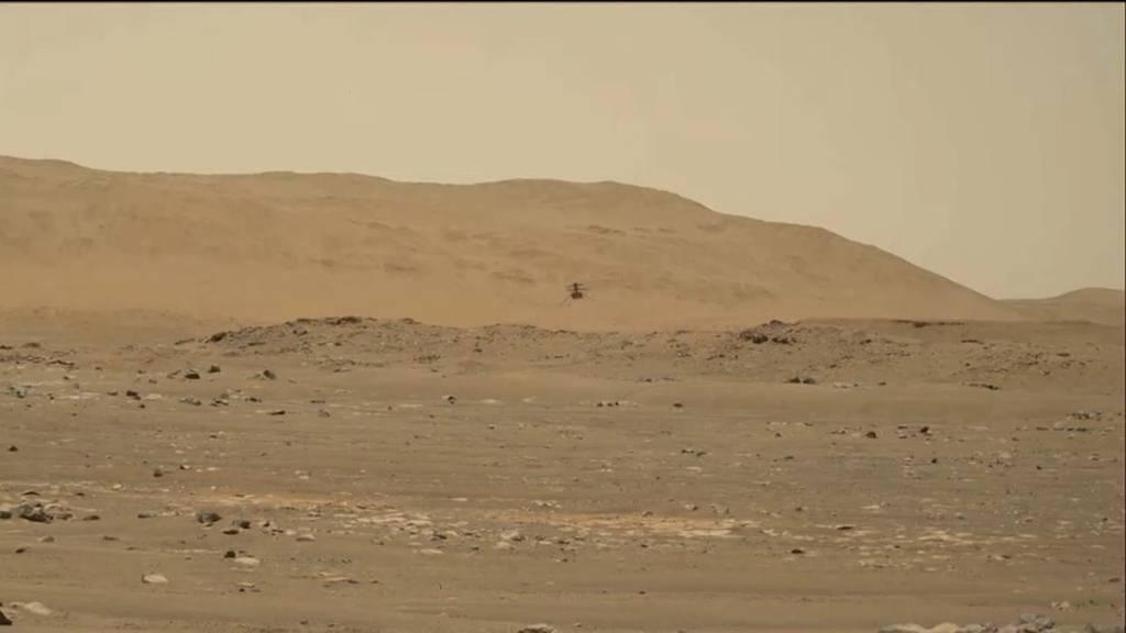So klingt ein Heli auf dem Mars