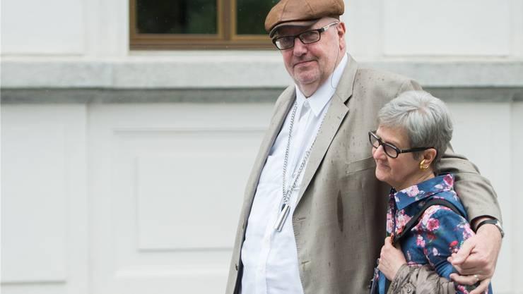 Ehe- und Gütergemeinschaft von Dieter und Ruth Behring.