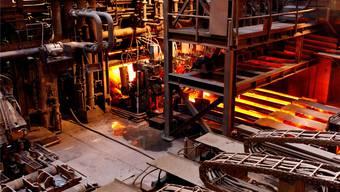Einer der grossen Schweizer Stromverbraucher: Das Stahlwerk Gerlafingen.
