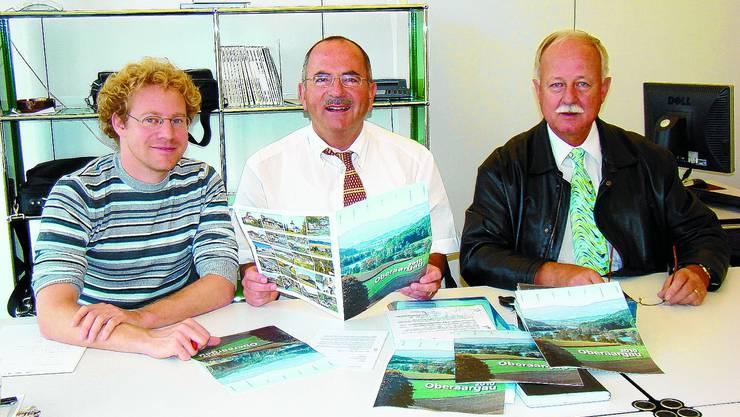 Initiativ: Urban Fischer, Martin Lerch und Hans Baumberger (von links). iba