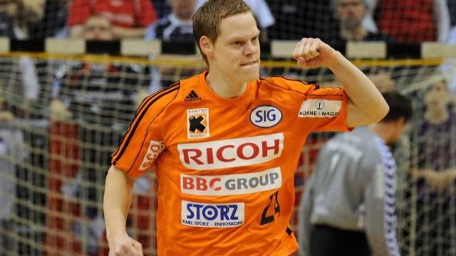 Kadettens Manuel Liniger ist vor dem Spiel gegen Flensburg optimistisch