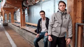 Sie sind jung, talentiert und hungrig: Pius Suter (l.) und Denis Malgin (r.) behaupten sich als aufstrebende Junglöwen im Starensemble der ZSC Lions. Mario Heller