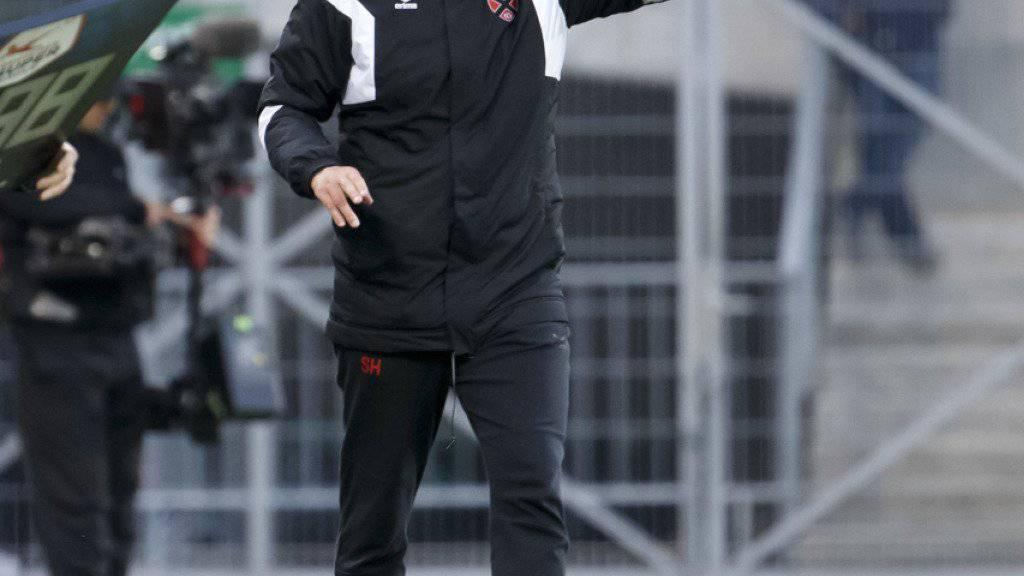 Hat sich durch seine Hingabe als Trainer von Xamax für weitere Aufgaben empfohlen: Stéphane Henchoz wird neuer Sion-Coach