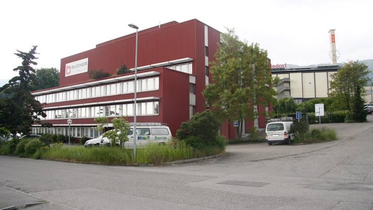 Im Bucher-Gebäude im Langendörfer Industriegebiet soll das neue Eleven entstehen - in Bahnhofsnähe.