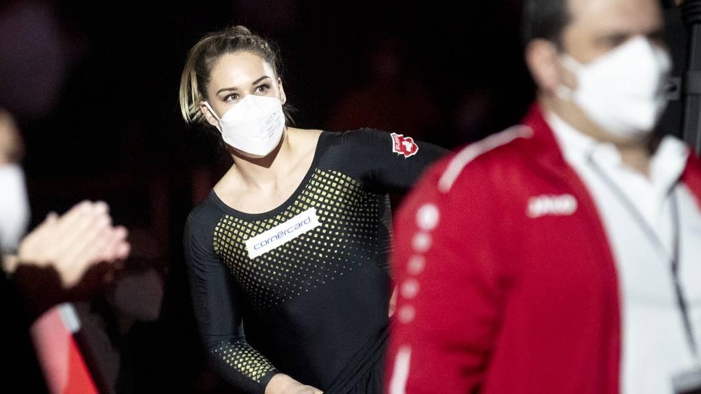 Knapp: Giulia Steingruber verpasst das Gerätefinal am Sprung