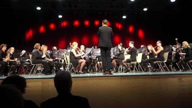 Der Musikverein Harmonie Schlieren spielt An der schoenen Donau von Johann Strauss junior