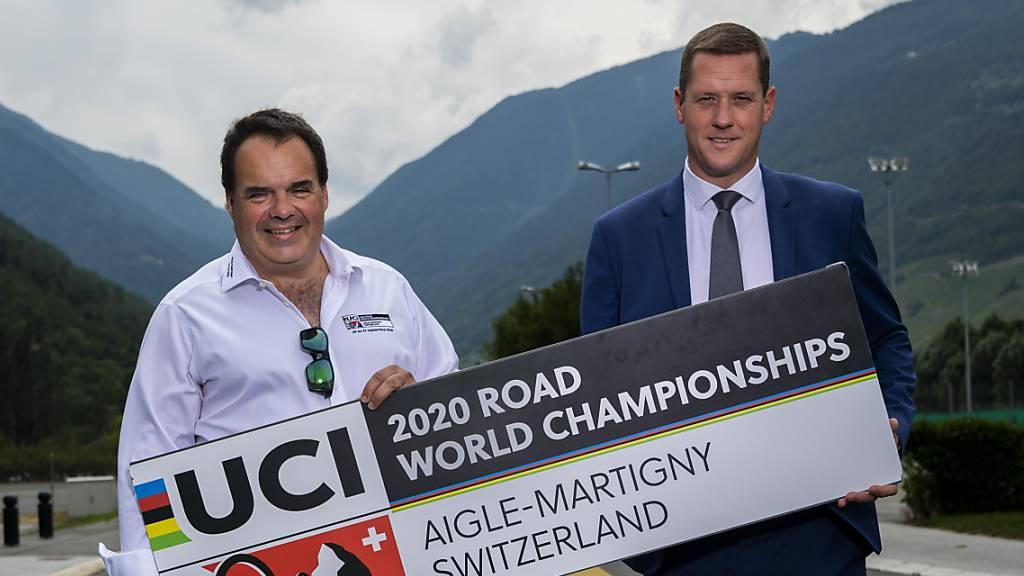 Die Organisatoren der Strassen-WM im Wallis hoffen auf einen positiven Entscheid des Bundesrates