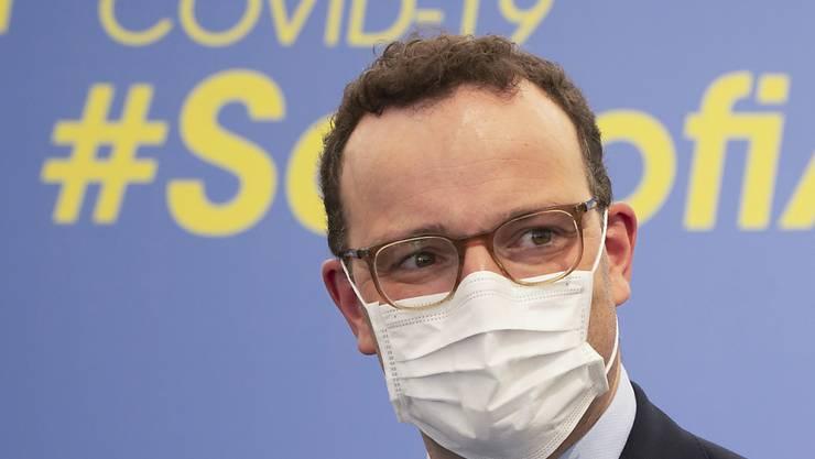 Der deutsche Gesundheitsminister, Jens Spahn, ist optimistisch, dass es noch in diesem Jahr eine Zulassung für einen Impfstoff in Europa geben wird. (Archivbild)