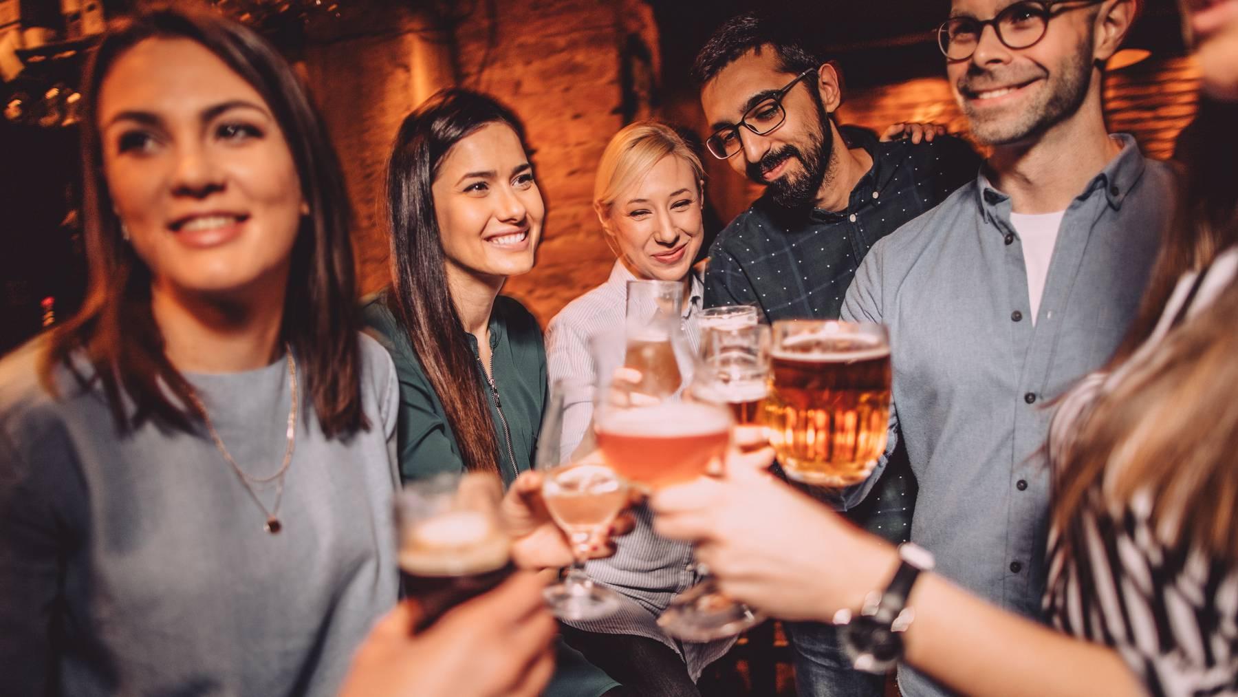 Neue Studie zu Alkoholkonsum