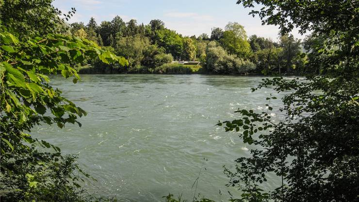 An dieser Stelle kann die Reuss zwischen Fischbach-Göslikon und Künten-Sulz in ein paar Jahren vielleicht über einen Steg gequert werden.