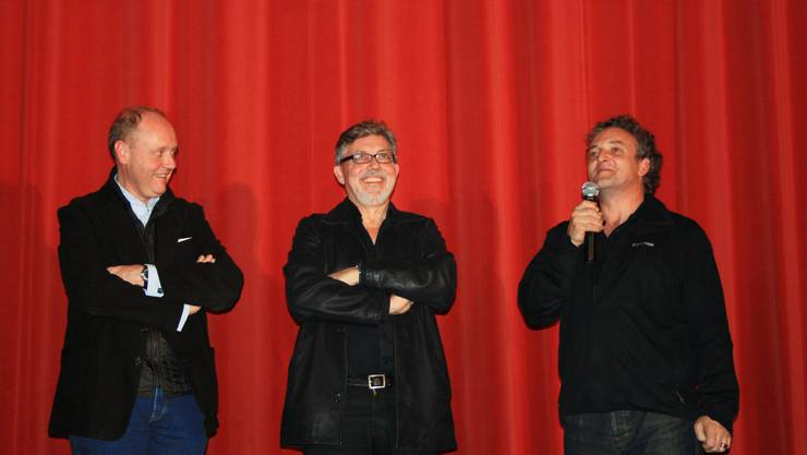 Hans Syz, Jürg Ebe und Marco Rima
