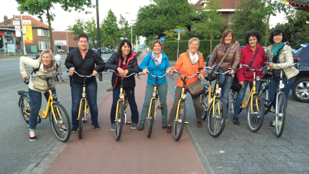 STV Frauen auf Fahrradtour