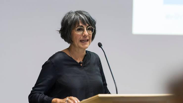 Kathrin Scholl, Aargauer Lehrerverbandspräsidentin.