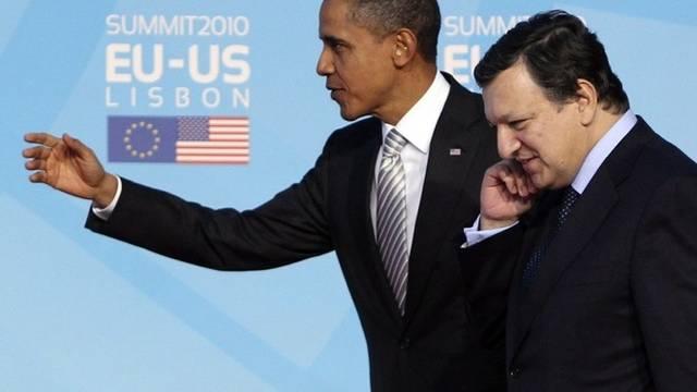 Gehen in die gleiche Richtung: US-Präsident Obama und EU-Kommissionspräsident Barroso