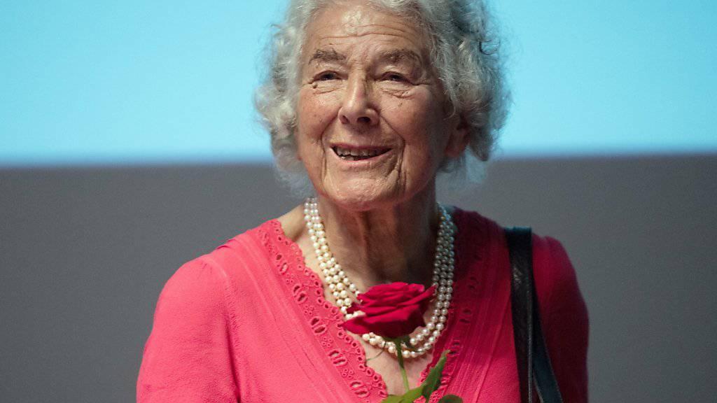 Die deutsch-britische Autorin Judith Kerr ist im Alter von 95 Jahren gestorben. (Archivbild)