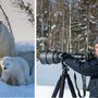 Tierfotograf Rudolf Hug steht Auge in Auge mit Eisbären und Walrössern