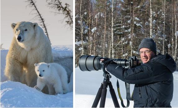 Tierfotograf Rudolf Hug hat schon 20 Bildbände veröffentlicht.