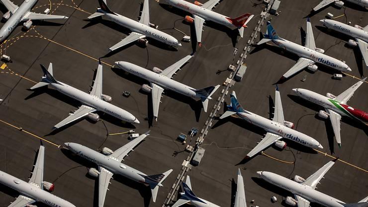 """Das """"737-Max-Grounding"""" hinterlässt nun auch Spuren in den Zahlen des US-Flugzeugherstellers. (Archivbild)"""