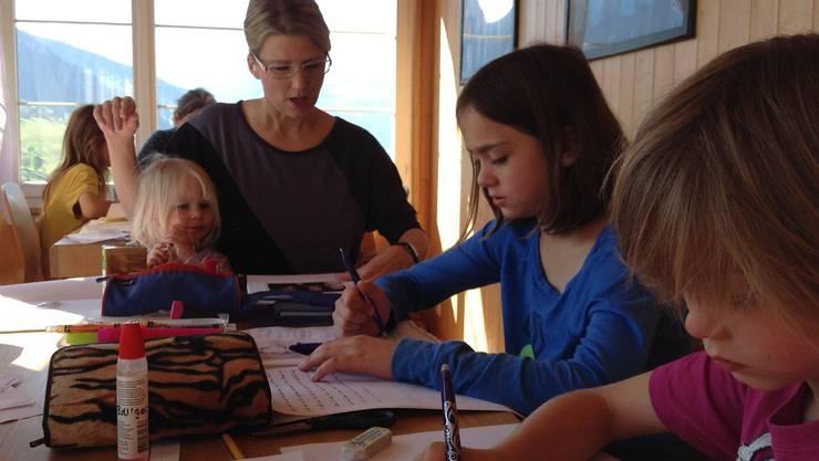 Projektwoche: Homeschooling-Familien aus der ganzen Schweiz organisieren jährlich ein gemeinsames Lager.