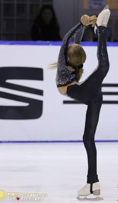 Eiskunstläuferin Kimmy Repond konnte zum dritten Mal an einem ISU Wettkampf siegen.