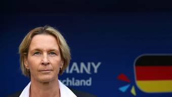 Ist mit Deutschland and der Frauen-WM in Frankreich auf Kurs: Martina Voss-Tecklenburg, die langjährige Trainerin des Schweizer Nationalteams
