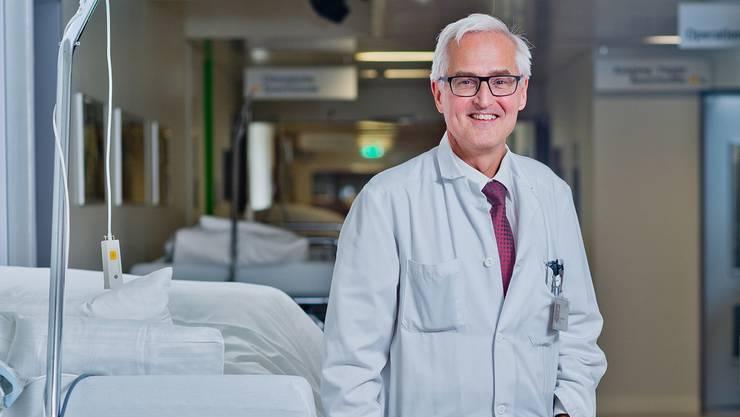 Für die Patienten soll sich mit der neuen Organisation nichts ändern, so Chefarzt Basil Caduff.