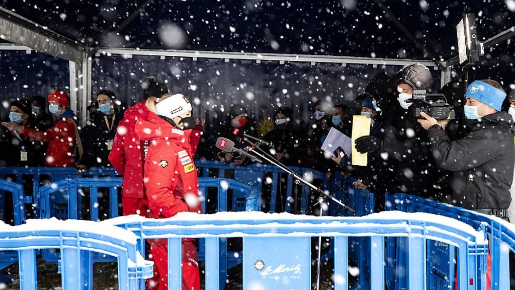 Die Frauen lancieren im winterlichen St.Moritz den Speed-Winter