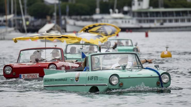 Grosse Testfahrt auf dem Zürichsee