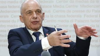 Ueli Maurer hat sich bei der Staatsrechnung 2018 «leicht» verschätzt.