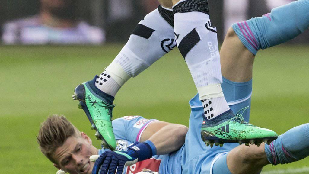 Jonas Omlin machte in dieser Saison mit starken Leistungen auf sich aufmerksam