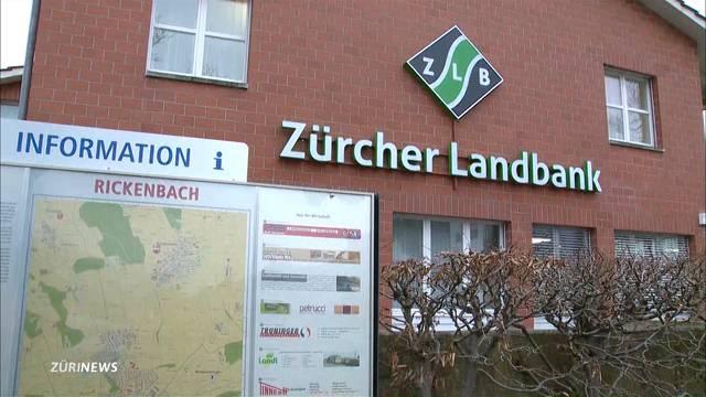 Banküberfall in Rickenbach