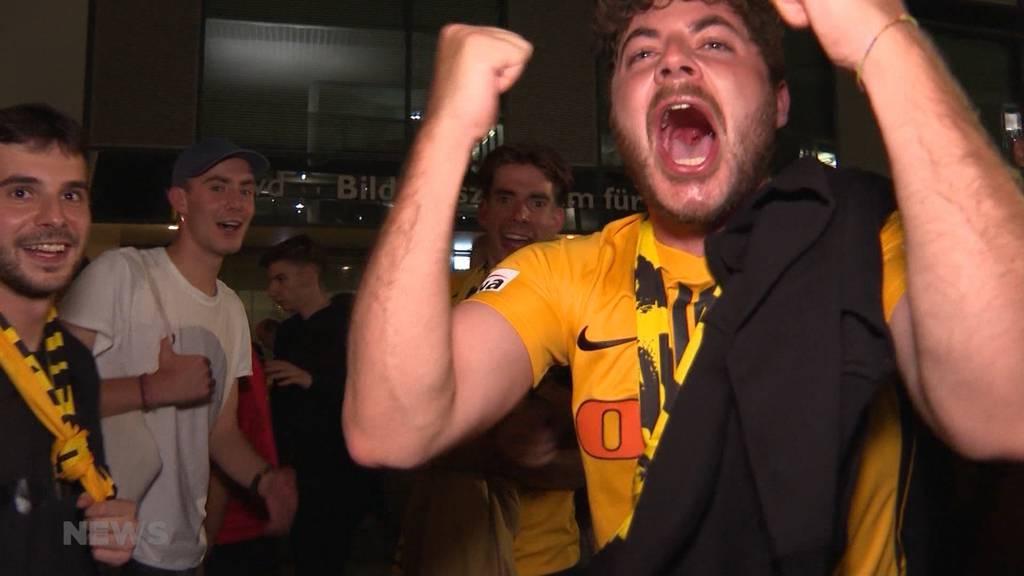Geyoungboyst! YB bodigt Manchester United in der Champions League mit 2:1