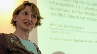 """Gemäss """"Bilanz"""" mächtigste Oekonomin des Landes: Monika Bütler (Archiv, 2006)"""