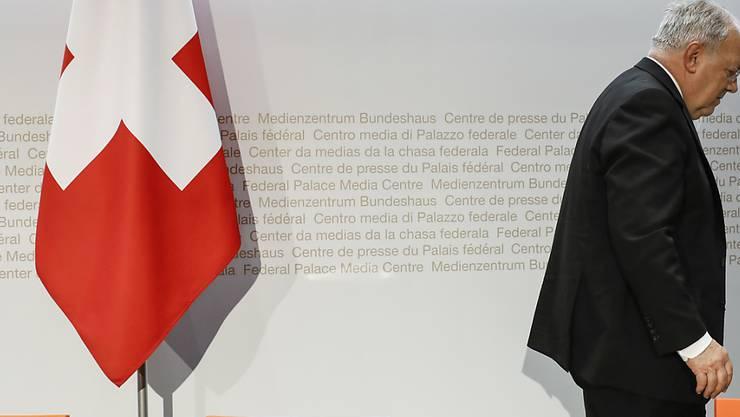 Eine Frau und zwei Männer wollen den abtretenden Bundesrat Johann Schneider-Ammann beerben. Die Frist für Bewerbungen ist abgelaufen. (Archivbild)