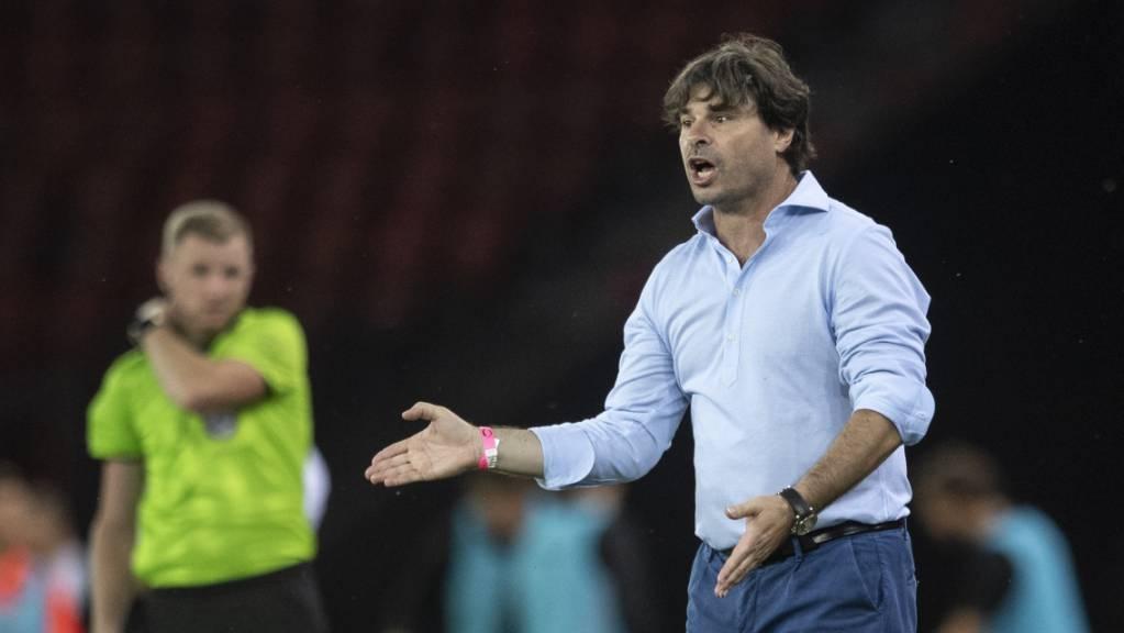 Wils Trainer Ciriaco Sforza errang einen Prestige-Sieg gegen seinen langjährigen Klub GC